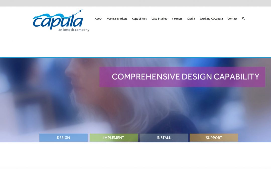 New website for Capula enhances market presence