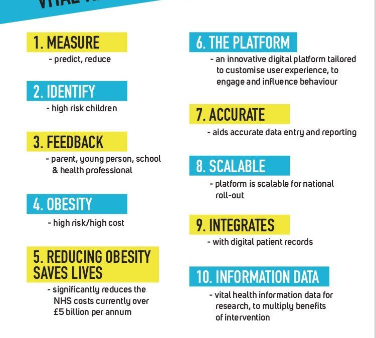 Digital Platform win to help combat Child Obesity